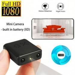 XD Full HD 1080P kamera Mini kamera Mikro infravörös éjjellátó kamera cam mozgásérzékelő DV Beépített akkumulátor