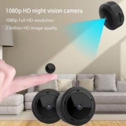 W10 Mini WiFi 1080P IR Night Vision otthoni biztonsági IP kamera CCTV mozgásérzékelés Baby Monitor