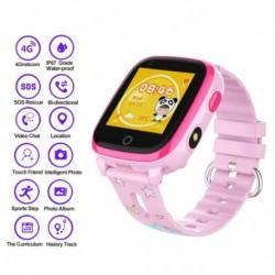 DF33Z gyermek intelligens óra 4G WIFI telefon 1,44 hüvelykes IP67 SOS LBS LTE fényképezőgép baba hangos csevegés
