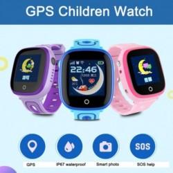 DF31G GPS intelligens gyerekek nézik a gyerekek baba SIM-kártya érintőképernyő SOS hívás vízálló nyomkövető monitor