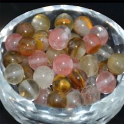 Cherry Quartz - Természetes drágakő kerek kő laza gyöngyök tétel 4mm 6mm 8mm 10mm barkács ékszerek készítése