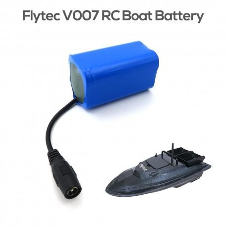 7,4 V 5200 mAh lítium akkumulátor RC akkumulátor a Flytec V007 Fish Finder csónakhoz