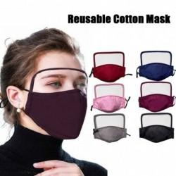 2020 új, mosható, tiszta arcvédő 2 PM2.5 szűrővel szemvédő újrafelhasználható pamut maszk nőknek és férfiaknak