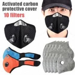 Pormaszk újrafelhasználható professzionális aktívszenes háló légzőszelepes maszk