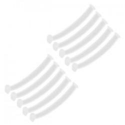 10 db - 10 / szett Arcvédő fülhorog állítható fülpánt hosszabbító  rögzítő csat
