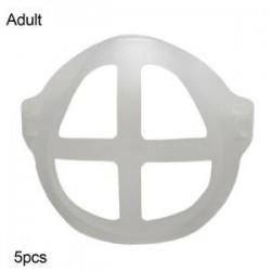 Felnőtt - 3D száj MASZK konzol Száj külön belső állványtartó ÚJRAFELHASZNÁLHATÓ légáteresztő