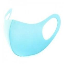 Kék - 20x újrafelhasználható női férfi mosható arc védő maszk