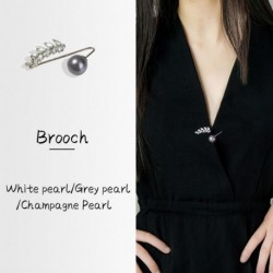 1db divat kreatív gyöngy levél cirkónium bross gallér tű női ruha kiegészítők ajándék