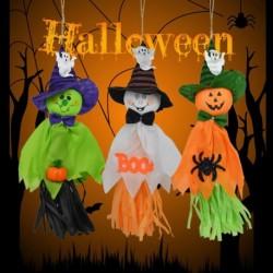 1db Halloween Ghost függő dekoráció Beltéri kültéri Spectre Party Dísz Utility Medál Kellékek Halloween Event Party