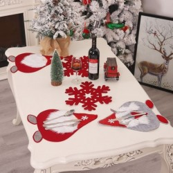 1db ablakdíszek karácsonyi asztal zászló fali imádnivaló asztali szőnyeg a Party Shop Office Home