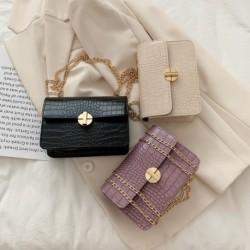 2020 új divat koreai Pu anyag sokoldalú egyvállas táska divat hordozható lánc táska