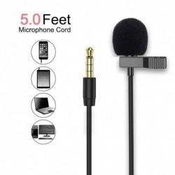 3,5 mmes mini hordozható mikrofon kondenzátor, rögzíthető