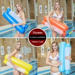 4 az 1ben felfújható medence úszó függőágy összecsukható többcélú medence nyereg társalgó függőágy drifter