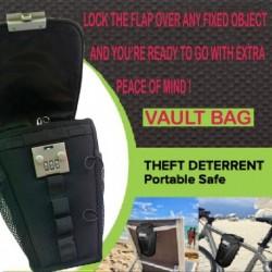 Lopásgátló hordozható strandszék jelszó táska könnyű ellenálló tárolás