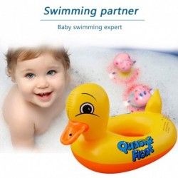 Baba medence úszó rajzfilm kacsa kisgyermekek Úszó csecsemő felfújható aranyos állat úszó gyűrű 16 éves gyermekek