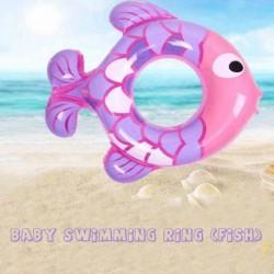 Baba medence úszó rajzfilm hal kisgyermekek Floaties csecsemő felfújható aranyos állat úszó gyűrű gyerek súlya 2555LB