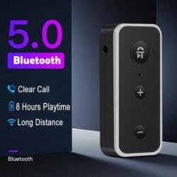 Car Aux adapter vezeték nélküli 3,5 mmes sztereó zenei audio vevő Bluetooth 5.0 az automatikus kihangosítós BT510 autós