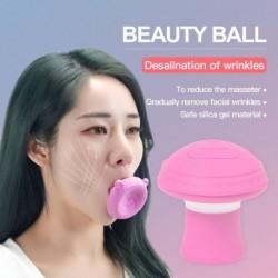 Arc karcsúsító eszköz Arcfeszesítő bőr feszesítő V alakú edző eszköz aranyos hordozható ránctalanító száj edző