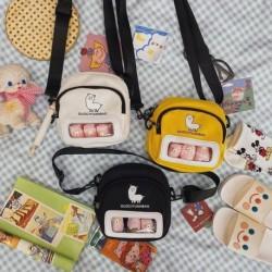 Divat női aranyos rajzfilm Alpaca Doll Messenger táska női vászon táska melltáska válltáska