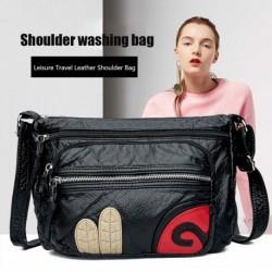 Divat női szabadidő utazási bőr válltáska PU hordozható lánc táska kézitáska