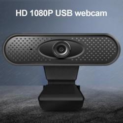 Full HD 1080P webkamera USB számítógép kamera mikrofonnal Illesztőprogram nélküli videó webkamera az élő közvetítés
