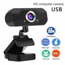 Full HD webkamera mini számítógép kamera mikrofonnal, hordozható USB online értekezlet számítógép laptophoz