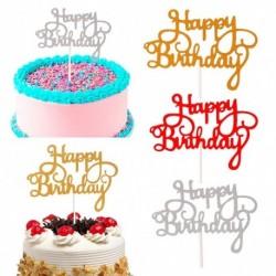 Happy Birthday - Tortadísz szülinapra - Ötféle színben