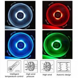 IDCooling PL12025 12 cmes vakító fényű ventilátor