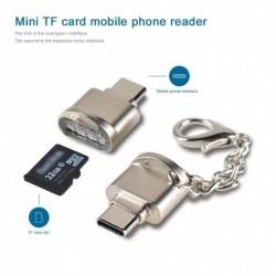 C típusú Micro SD TF memóriakártyaolvasó OTG adapter USB 3.1 kártyaolvasó Samsung Macbook Huawei LeTV