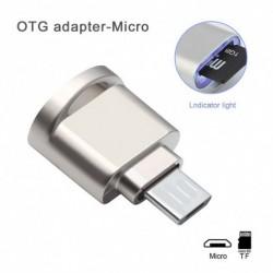 Hordozható Mini kártyaolvasó USB Micro SD TF memóriakártya olvasó OTG adapter USB 3.1 kártya olvasó