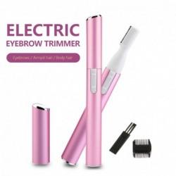 Praktikus elektromos szemöldök olló hajvágó mini hordozható női testborotválkozó eltávolító penge borotva epilátor