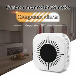 Füstérzékelő és szénmonoxidérzékelők 2 az 1ben  tűzjelző érzékelő vezeték nélküli átviteli hálózati