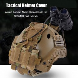 Taktikai sisakvédő Airsoft Combat Nylon sisakruha BJ / PJ / MH gyors sisakhoz