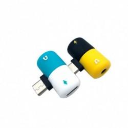 C típusú OTG USB TypeC  3,5 mmes adapter Fejhallgató audioaudio átalakító adapter