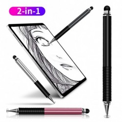 Univerzális 2 az 1ben ceruza rajz táblagép tollak kapacitív toll kapacitív képernyő érintő mobiltelefon Android okos