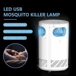 USBmeghajtású szúnyoggyilkos lámpa LEDes inhalációs kártevő gyilkos légyirtó fénytompító szúnyogriasztó lámpa