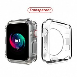 Órafedél karóra Apple Watch 360 Soft Clear TPU képernyővédő tok iWatch sorozathoz 5/4/3/2/1 44MM 40MM 42mm 38MM