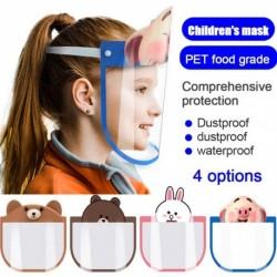 Női teljes arcvédő porálló biztonsági pajzs eszköz Cartoon Protect Eye Clear Mask