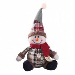 Hóember - Karácsonyi dekoráció babák hóember Mikulás karácsony függő asztal álló dísz