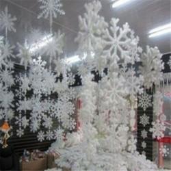 8,5 cm - 30db fehér hópehely karácsonyfa díszítés karácsonyi ünnepi fesztivál party Egyesült Királyságban