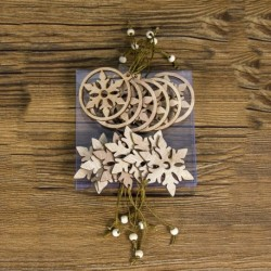 hópehely - 12db fa karácsonyfa hópehely angyal medálok dísz karácsony függő dekoráció