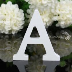 A - 26 fa fa betű ábécé szó szabadon álló esküvői party otthoni dekoráció