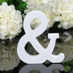 & - 26 fa fa betű ábécé szó szabadon álló esküvői party otthoni dekoráció