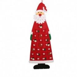 Piros - Fa lógó naptár varázsa a visszaszámláló karácsonyi falikaró naptárhoz