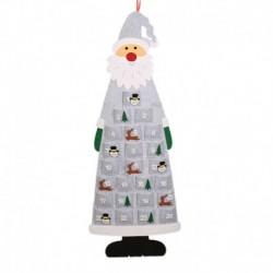 szürke - Fa lógó naptár varázsa a visszaszámláló karácsonyi falikaró naptárhoz
