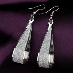* 22 - Új 1 pár elegáns női kristály strassz gyöngy fülbevaló divat fülbevaló ajándék