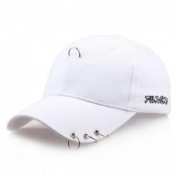 fehér - Baseball sapka szárnyak Kpop Bangtan Boys Iron Ring Snapback Sun Hat sapka divat