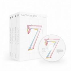BTS - Map Of The Soul : 7 CD album - KPOP - BTS - Bangtan Boys - 2. verzió