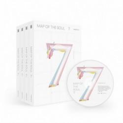 BTS - Map Of The Soul : 7 CD album - KPOP - BTS - Bangtan Boys - 2. verzió - Poszter nélkül
