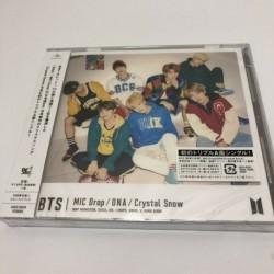 MIC Drop - DNA - Crystal Snow CD maxi kislemez - Japán limitált első kiadás - KPOP - BTS - Bangtan Boys